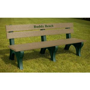 Buddy Bench and Logo Benches